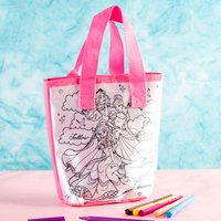 Disney Princess Colour Your Own Tote Bag - Colour Gifts