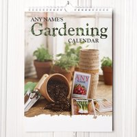Personalised Gardening Calendar - 4th Edition - Gardening Gifts
