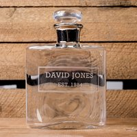 Personalised LSA Flask Decanter - Flask Gifts