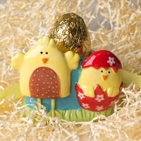 Ceramic Egg Cup & Chocolate Egg - Hampers Gifts