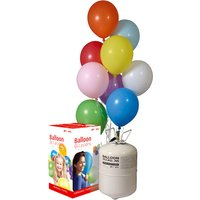 Helium Balloon Cylinder, Inflates 30 - Decorations Gifts