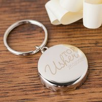 Personalised Bottle Top Keyring With Bottle Opener - Top Usher