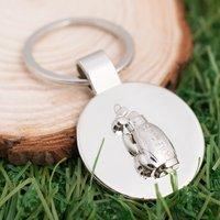 Personalised Golf Bag Key Ring - Key Ring Gifts