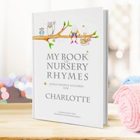 Personalised My Book Of Nursery Rhymes - Nursery Gifts