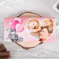 Photo Upload Me To You Chocolate Bar - Love Heart - Me To You Gifts