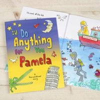 Personalised Book - I'd Do Anything For You Mum - Anything Gifts