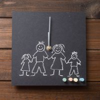 Eco Toddler Clock - Design Your Own Wall Clock - Toddler Gifts