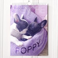 Image of Personalised Frenchie Calendar