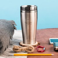 Personalised Travel Vacuum Flask - Awesome Adventures - Flask Gifts