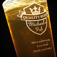 Personalised Pint Glass - Pub Pint - Pub Gifts