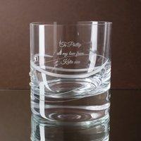 Engraved Swarovski® Elements Diamanté Whisky Tumbler - Swarovski Gifts