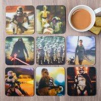 3D Star Wars Episode VII Coasters, Set Of 8 - Star Wars Gifts