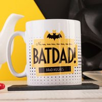 Personalised Mug - Batdad! - Cutlery Gifts