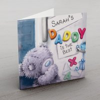 Personalised Me To You Card - Daddy Is The Best - Me To You Gifts