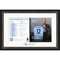 Personalised Manchester City Match Day Programme - Manchester City Gifts