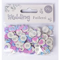 Mr & Mrs Wedding Foil Table Confetti, Hugs - Wedding Gifts