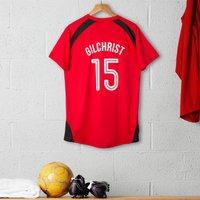 Personalised Adult Official Manchester United Football Top - Football Gifts