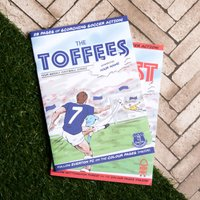Personalised Official Football Comic Book - Football Gifts