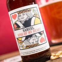 Personalised Beer - King Of My Heart - Beer Gifts