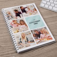 Photo Upload Notebook - 5 Family Photos - Photos Gifts