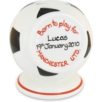 Personalised Money Box - Football - Football Gifts