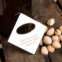 Personalised Silver Bottle Opener - Any Message - Bottle Opener Gifts