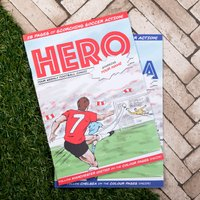 Personalised Football Comic Book - Football Gifts