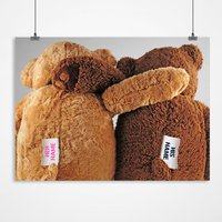Personalised Print - Teddy Bears - Bears Gifts