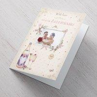 Photo Upload Card - Butterflies Our Anniversary - Butterflies Gifts