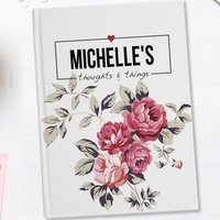 Personalised Diary - Thoughts & Things - Diary Gifts