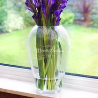 Personalised LSA Grand Bouquet Vase - Name - Vase Gifts
