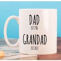 Personalised Mug - Dad & Grandad - Grandad Gifts