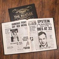 Personalised Newspaper Book - Beatles Edition - Beatles Gifts