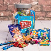 Personalised Retro Sweet Jar - Retro Sweets - Retro Sweets Gifts