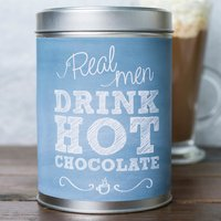 Personalised Hot Chocolate - Real Men - Hot Chocolate Gifts