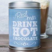 Personalised Hot Chocolate - Real Men - Men Gifts
