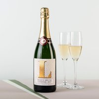 Luxury Personalised Champagne - Gold Learner