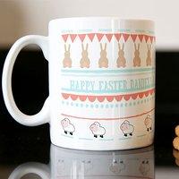 Personalised Mug - Rabbits & Lambs - Rabbits Gifts
