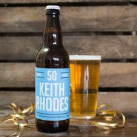 Personalised Beer - 50th Birthday Beer - 50th Gifts