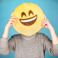 Emoji Pillow - Happy Days - Pillow Gifts
