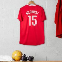 Personalised Adult Official Liverpool Football Top - Football Gifts