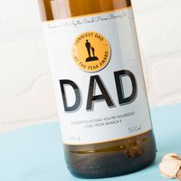 Personalised Beer - Funniest Dad Of The Year - Beer Gifts