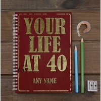 Personalised Notebook - Your Life At... - Life Gifts