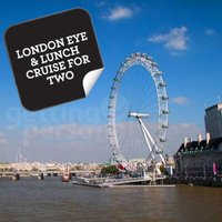 London Eye & Lunch Cruise for Two - Lunch Gifts