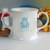 Personalised Christening Mug - For Boys