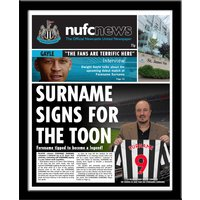 Personalised Newcastle United News - Newcastle Gifts