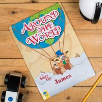 Personalised Story Book - Around The World - Book Gifts
