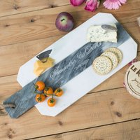 Personalised Gourmet Marble Serving Board - Gourmet Gifts