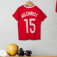 Personalised Children's Official Liverpool Football Top - Football Gifts