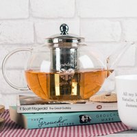 Personalised Glass Teapot - English Brew